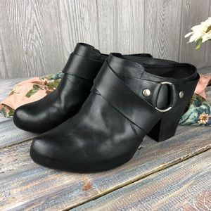 Kork-Ease Courtney Mule Bootie Black